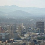 "Asheville, NC the ""Paris of the South"" in the Blue Ridge Mountains."