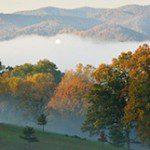 October in Asheville