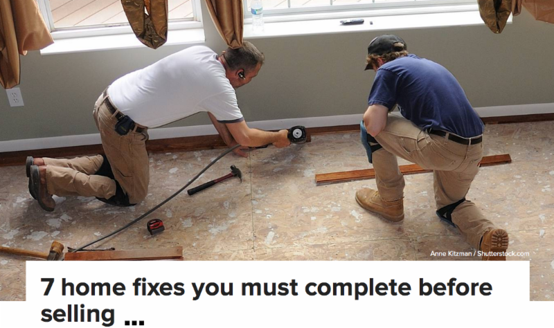 7 Home Fixes for homes in Asheville