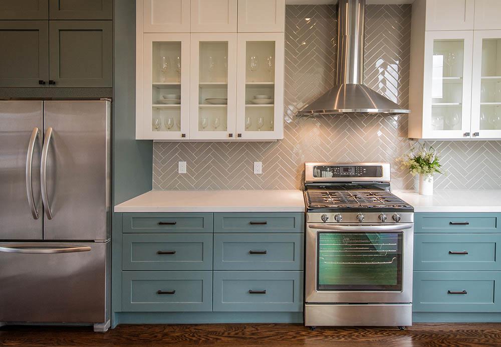 Asheville home kitchen