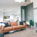 Asheville home living room