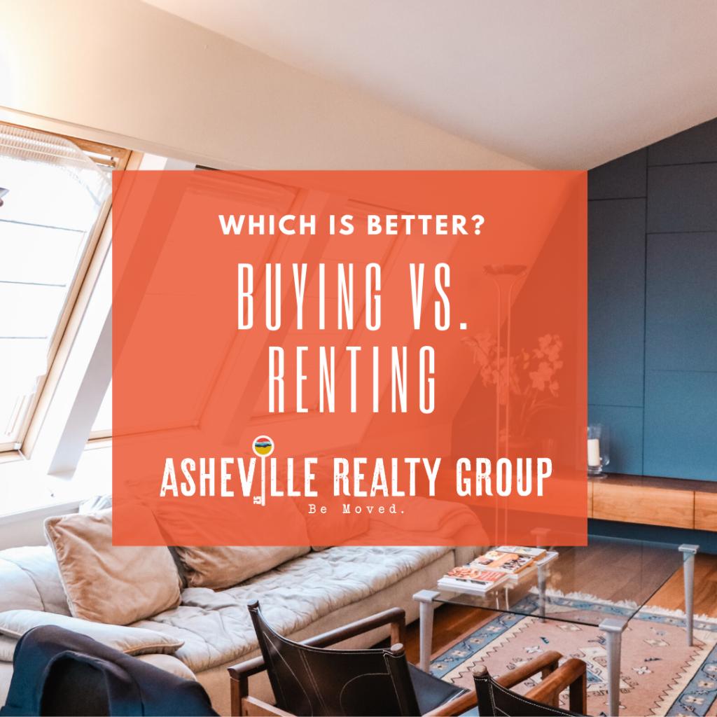 buying vs renting Asheville