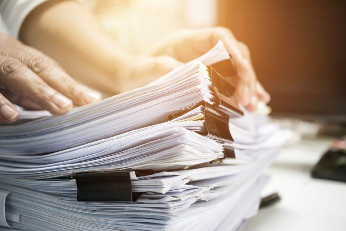 asheville real estate loan paperwork